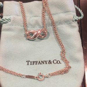 Tiffany & Co. Infinity Double Strand Necklace